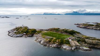 Henningsvær footballl stadium