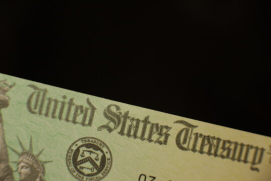 A US government stimulus check