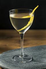 Boozy Dry Vesper Martini Cocktail