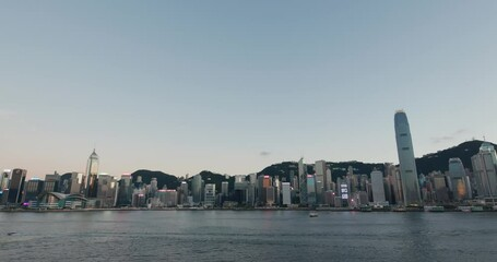 Wall Mural - Hong Kong landmark