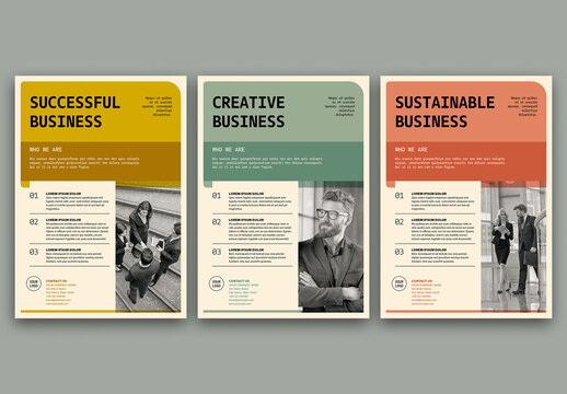 Business Flyer Layout Set