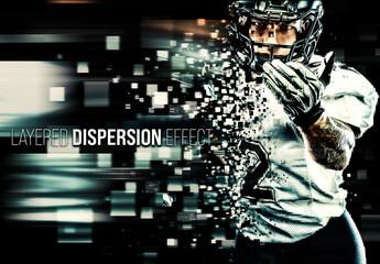 Image dispersion Effect Mockup