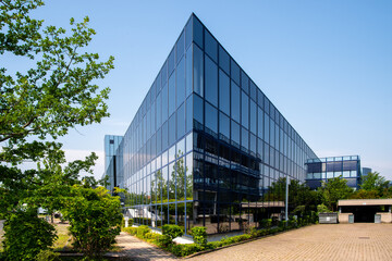 Henningsdorf, Germany, 06/13/2020: The co:bios foundation develops resources, also internationally, to advance the life sciences in Berlin-Brandenburg.