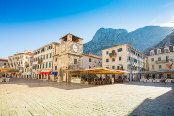 Montenegro. Streets of the Old City of Kotor