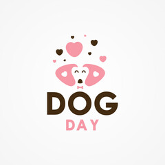 National Dog Day Vector Design Illustration For Celebrate Moment