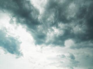 clouds time lapse Fotobehang