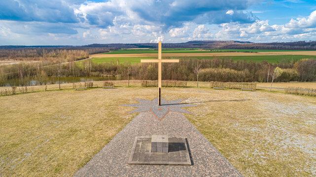 Pope hill on the Marienfeld near Kerpen