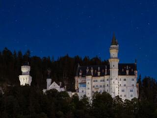 Königsschloss Neuschwanstein, Bayern, Deutschland