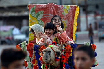 Celebrating Eid al-Adha as the coronavirus disease (COVID-19) pandemic continues, in Karachi
