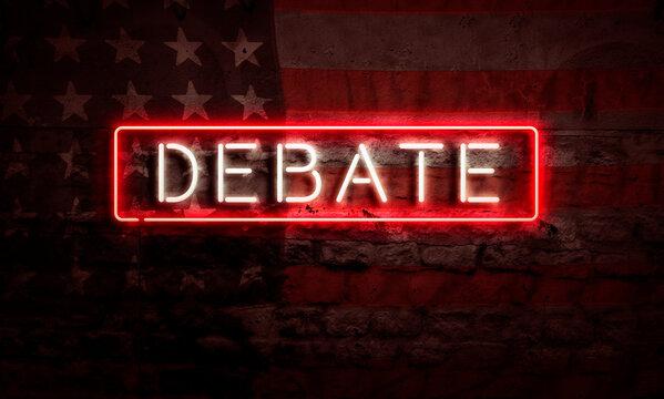 Debate Election USA Political Artwork