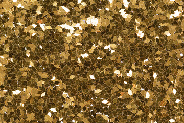 Superior gold glitter background for your excellent design, Christmas texture with shiny surface.