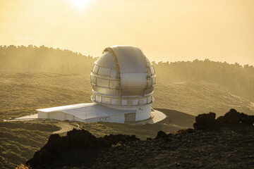 Gran Telescopio in La Palma, Canary Islands, Spain