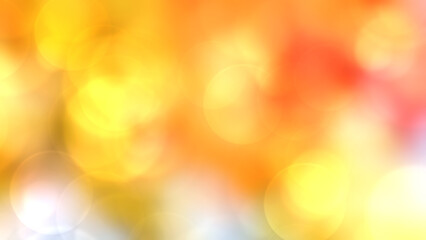 Wall Mural - Abstract colorful  bokeh background blur,autumn light wallpaper