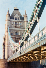Tower Bridge With Underbelly