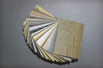 Catalog of samples of materials. Finishing material.