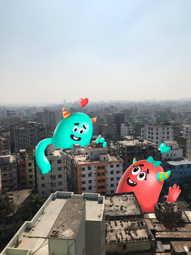 A love story of two monster in the City