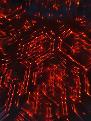 Light Circuit in Red