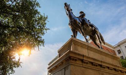 Joseph Hooker Statue in Boston