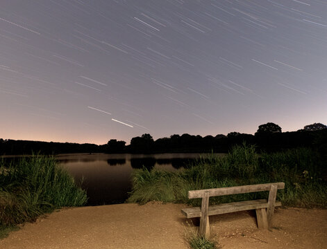 Star Trails Richmond Park London