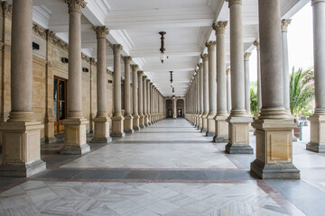 Mill colonnade in Karlovy Vary