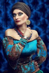 national gypsy costume