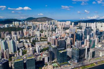 Wall Mural - Hong Kong business district