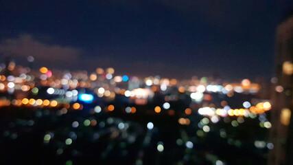 time lapse of traffic at night Fotobehang