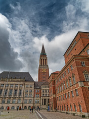 The old city town hall in Kiel, Germany