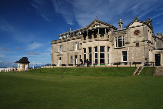 The old Course, St Andrews, Fife, Scotland