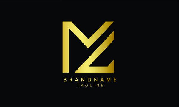 Alphabet letters Initials Monogram logo MC, CM, M and C