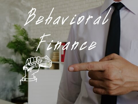Conceptual photo about Behavioral Finance with written phrase.