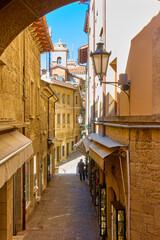 Wall Mural - Street in San Marino