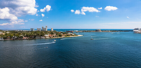 Intracoastal Waterway, Fort Lauderdale, Florida, USA