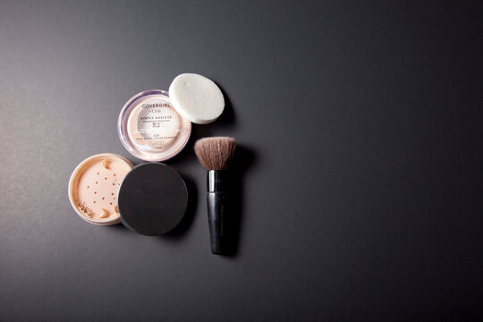 Cover Girl Foundation and Mary Kay powder