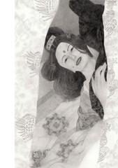 逢引中の古代日本貴族