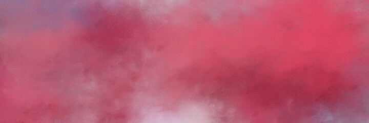 stunning moderate pink, pastel violet and dark moderate pink colored vintage abstract painted background with space for text or image. can be used as postcard or poster Wall mural