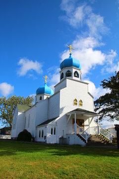 Holy Resurrection Church is a historic Russian Orthodox Church in Kodiak, Alaska