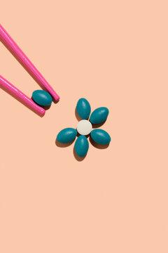 pill flower