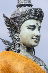 Foto op Canvas Historisch mon. Buddha statue made of stone