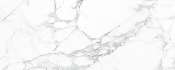 Foto auf Leinwand Steine White marble stone texture background