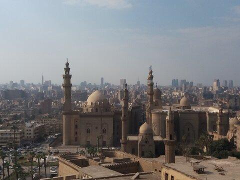 Mosque-Madrassa of Sultan Hassan, El Cairo.