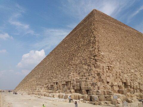 Piramid of Keops in El Cairo