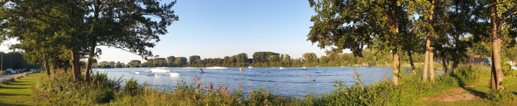 Wasserski im water park Geisenfeld