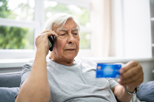Elder Scam Call And Senior Pension Fraud