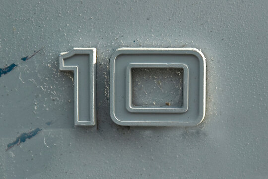 Found photo of numbers 0 to 10 or zero to ten. Raised characters and colorful and unique. These number will make your message stand out, they are old and faded or have blemishes and individual.