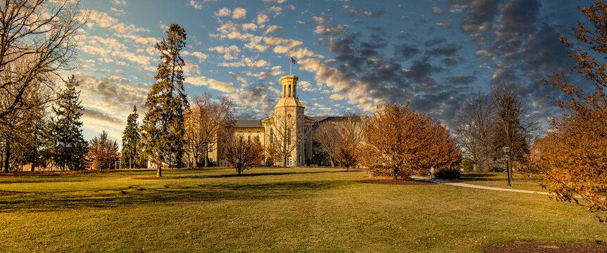 Wheaton College winter