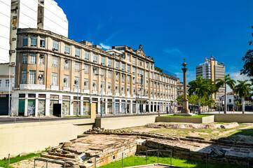 Cais do Valongo, an archaeological site in Rio de Janeiro, Brazil