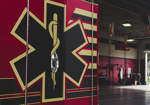 Fire Truck in Broward County, Florida