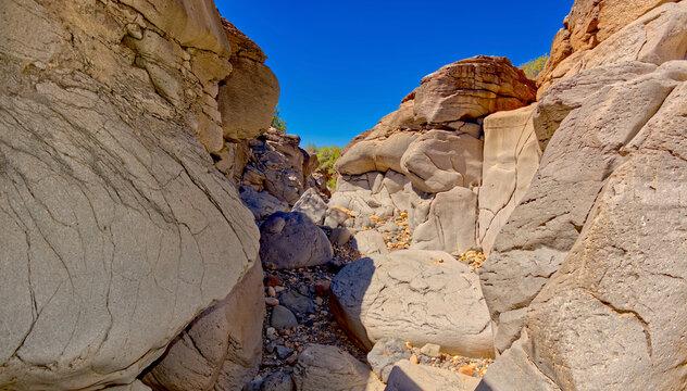 Gray Stone Canyon Near Perkinsville AZ