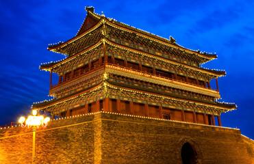 Qianmen Gate Zhengyang Men Tiananmen Square Beijing China